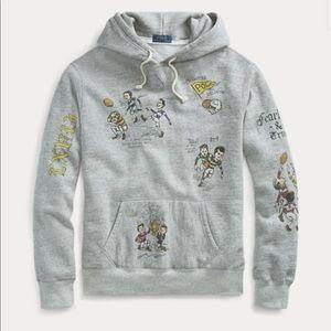 🆕 Polo Ralph Lauren Men's Fleece Graphic Hoodie